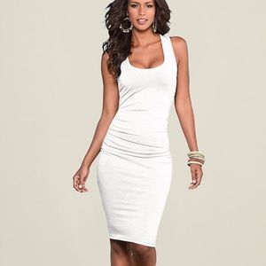Venus Ruched Tank Dress